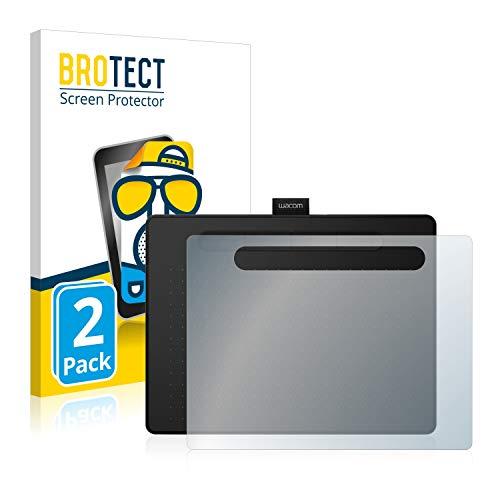brotect Pellicola Protettiva Opaca Compatibile con Wacom Intuos M Pellicola Protettiva Anti-Riflesso (2 Pezzi)
