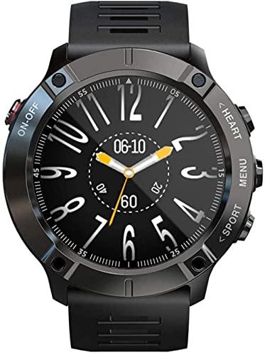 Reloj inteligente al aire libre Fitness Tracker con pantalla grande de 1.3 pulgadas deportes al aire libre pulsera impermeable podómetro-A