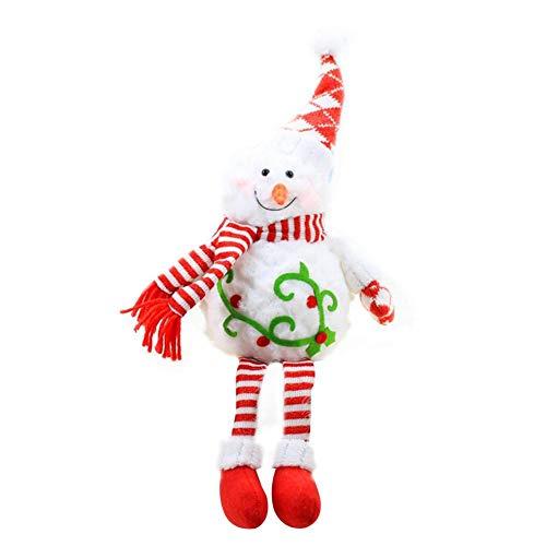 Groust Weihnachtspuppe, Schaum Schneemann Figuren Ornament Weihnachten Wichtel Figuren Deko Geschenke Weihnachtspuppe Schaufenster Schmuck Deko