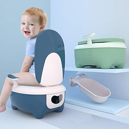 PPuujia Baby potty New Toilet for Kids Boy Girl Baby Bedpan Baby Baby Baby Baby Urinal Child Toilet Ring Bedpan Potty Seat Toilet Training (Color : Green)