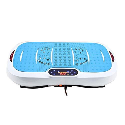 Vibrationstrainer Vibrationsplattenplattform, Body Shaking Massage Fitnessgerät, ferngesteuerter Bluetooth-Lautsprecher, Bewegungsfettverlust Einzigartiges Design, damit Sie effektiv trainieren könne