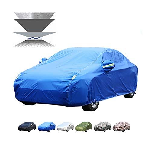 Guoguocy Autoplanen Car-Cover, mit hohen Dichte PP Baumwolle, Kompatibel mit Car-Cover Opel Meriva/Insignia, wasserdicht, Frostschutz-, Anti-EIS (Color : B, Size : Opel Insignia)