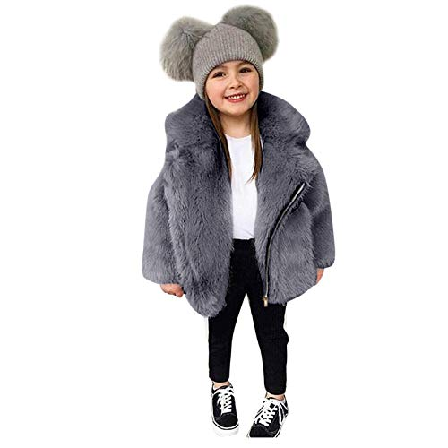sunnymi Winterjacke Mäntel für Baby Jungen und Mädchen,1-7 Jahre Kleinkind Baby Kinder Mädchen Winddichte Winter Fleece Mantel Verdicken Warme Outwear