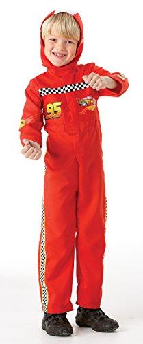 Rubie`s - Disfraz infantil de Cars 2 McQueen (884665-L)