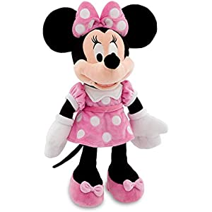 Disney 18 Minnie Mouse in Pink Dress Plush Doll by Mickey Mouse 8