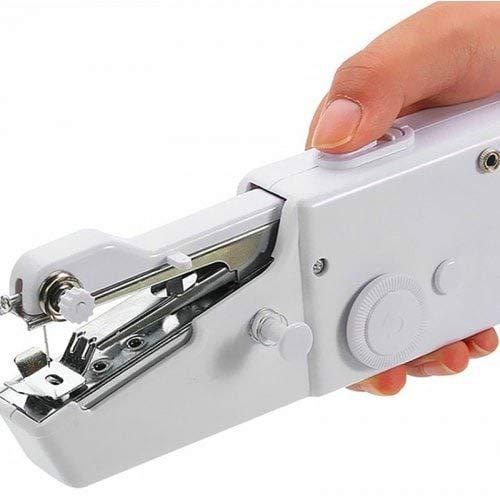 WZhen Portátil Handy Stitch Batería Alimentación Máquina De Coser Portátil - Blanco
