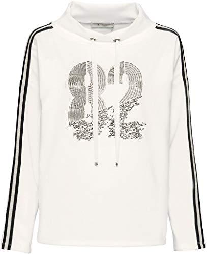 MONARI Damen Sweatshirt Creme 44 (XXL)