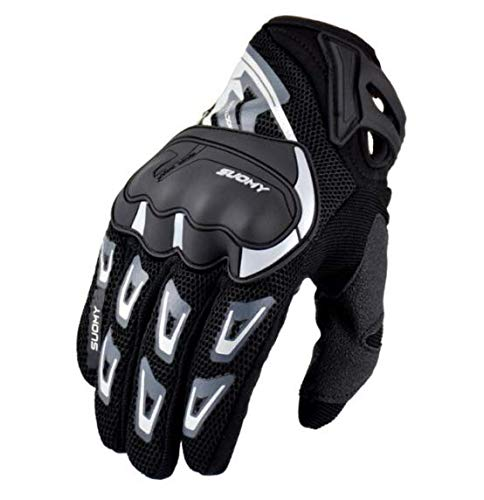 Motorcycle Racing Glove Motocross Gants Motorbike Gloves Full Finger Cycling Gloves Touch Screen Black Size Xl