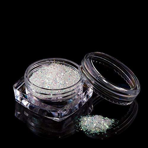 Nailart - Exclusives irisierendes Glitter/Glitzer Puder fein 0,2 mm - 1002-403