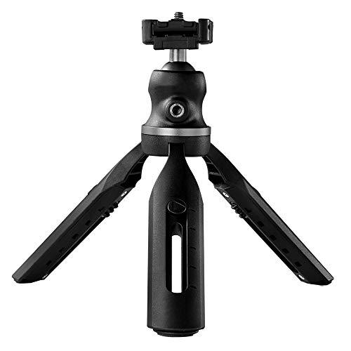 Trípode portátil Soporte para teléfono Ajustable de 360 Grados Soporte para cámara con Clip Universal para teléfono Compatible con teléfonos celulares Cámara Digital