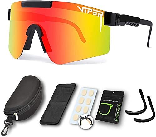 Gafas de sol deportivas al aire libre Eyewear de ciclismo polarizado a prueba de viento UV400 Gafas de protección para mujeres y hombres que conducen a correr Pesca Senderismo Golf ( Color : C07 )