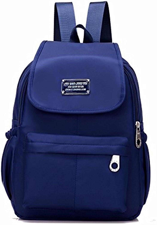 MSZYZ Shoulder Bag 2018 Women's Canvas Backpack Travel Bag Nylon Leisure Fun