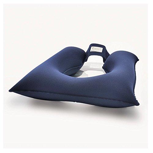 BORT Codyn® Sitzkissen, Hämorhoidenkissen, 45x45 cm, Öffnung 16cm