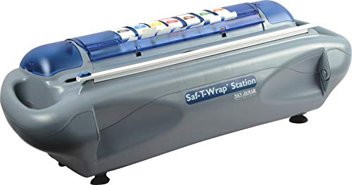 San Jamar SW1218SC Saf-T-Wrap Station with Slide Cutter