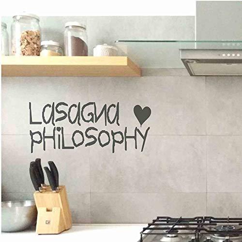 Tianpengyuanshuai muursticker keuken vinyl zelfklevend belettering decoratie Italiaanse muur