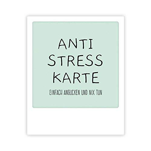 PICKMOTION Kleine Photo-Postkarte Anti Stress Karte Im Polaroid-Stil, Designed In Berlin - 1 Stück