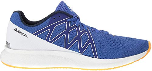 Reebok Mens Forever FLOATRIDE Energy, Crushed Cobalt/Collegiate Navy/Solar Gold/White/Pure Silver, 9 M US