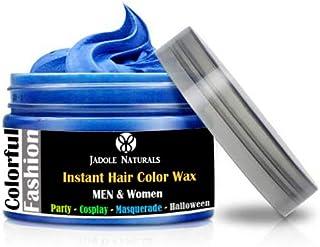 Jadole Naturals Temporary Hair Coloring Wax 120ml Natural Matte Hairstyle Hair Dye - Blue