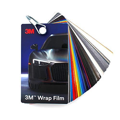 Färgfack 3M Wrap Film 2080 Di-Noc 8900 580E Scotchcal 80 100/983/180 folie bilfolie reklam (färgade fack 3M Wrap Film 2080/8900)