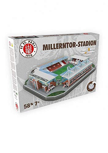 FC. St. Pauli 3D Millerntor Stadion Puzzle (one Size, Multi)