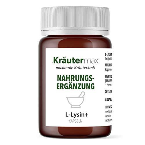 L-Lysin Pulver Hochdosiert Kapseln Aminosäure mit Zink Vegan 1 x 60 Stück