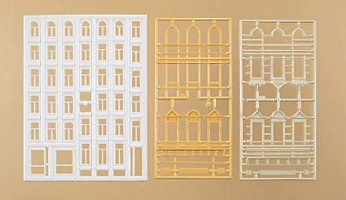 Auhagen 48651.0 - Fenster und Gewände für Wohngebäude, bunt