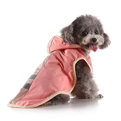 QZXCD Huisdier kleding mode verkoop hond regenjas grote hond gouden haar grote hond huisdier regenjas reflecterende hond kleding regenjas poncho, 4XL, AH