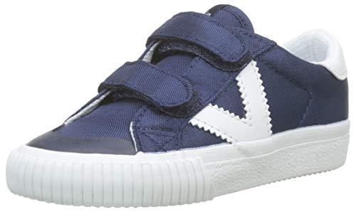 Victoria Tribu Velcros Nylon, Zapatillas Unisex Niños, Azul (Marino 30), 30 EU