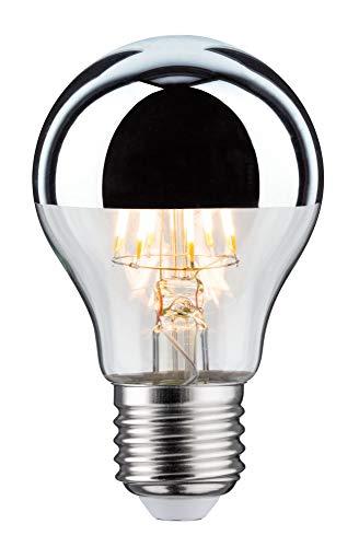 Paulmann 283.75 LED AGL 7,5W E27 230V Kopfspiegel Silber Warmweiß 28375 Allgebrauchslampe Leuchtmittel Glühlampe Lampe