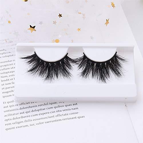 Jfsmgs Falsche Wimpern 3D Faux Nerz-Haar-falsche Wimpern natürliche Lange gefälschte Wimper-Verfassungs-Kreuzweiser Feathery Wispy Lashes (Color : H3)