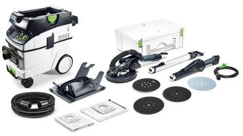 Festool Staubsauger CTM 36 E AC Schleifmaschine LHS 225-IP + Werkzeughalter WHR-CT 575454