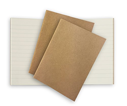 Lined Pocket Travelers Notebook Journal Paper Refills 3 Pack Cream Ruled Inserts for Small Passport Refillable Leather Travel Journals - 5 x 3.65. Soft Cover Thick Spare Grid Paper TN Travel Diary