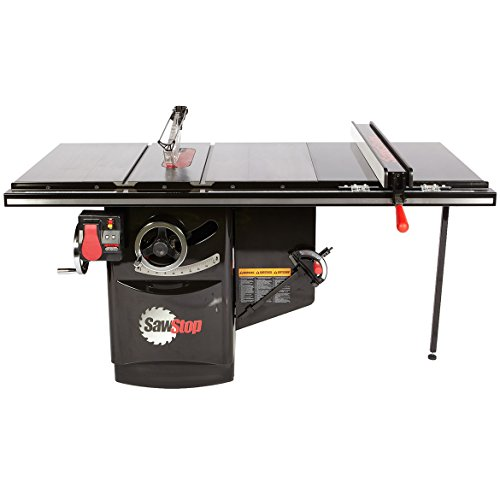 Buy Discount SAWSTOP 10-Inch Industrial Cabinet Saw, 5-HP, 36-Inch Industrial T-Glide Assembly (ICS5...