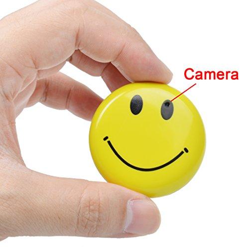 Smiley Face DVR Hidden Spy Mini Cam Recorder Camera 4GB CARD SUPPLIED AND AV LEAD