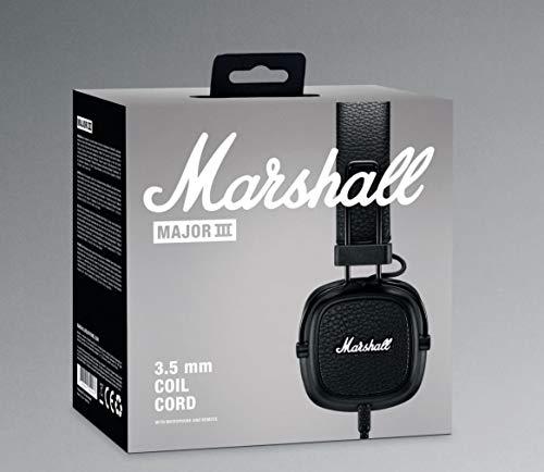 Marshall Major III Casque Audio Filaire - Noir