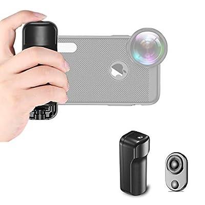 Amazon - Save 40%: Bluetooth Shutter Remote Selfie Handheld Stand Smartphone Holder Vlog…