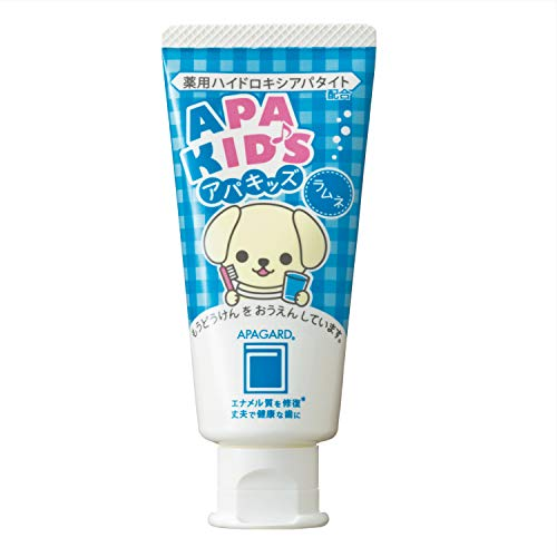 Apagard Apa-Kids toothpaste 60g | the first nanohydroxyapatite remineralizing...