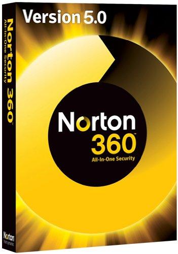 NORTON 360 V5.0 1 PC - inkl. Updatemöglichkeit auf Version 6.0