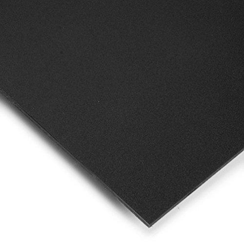 PVC Espumado Plancha Din A3 Medidas 29,7cm x 42cm Grueso 3mm Color negro