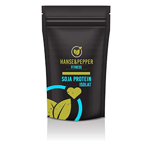 1kg Sojaprotein Isolat Neutral Pulver Glutenfrei ohne künstliche Aromen - Premium Serie