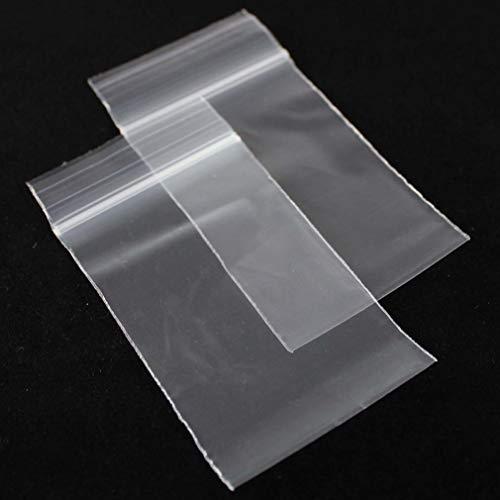 100 PREMIUM CLEAR RESEALABLE GRIPSEAL ZIPLOCK BAGS 3 in x 4in