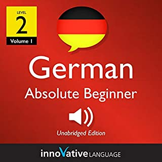 Learn German - Level 2: Absolute Beginner German (Volume 1: Lessons 1-25) audiobook cover art