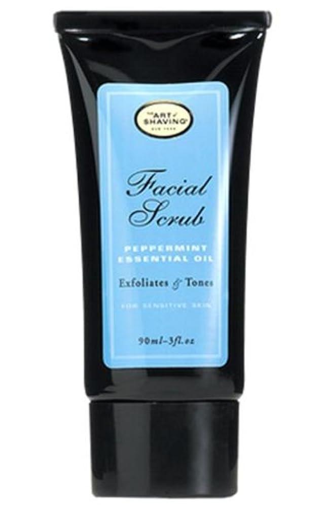 恐ろしい抵抗文言The Art Of Shaving Facial Scrub With Peppermint Essential Oil (並行輸入品) [並行輸入品]