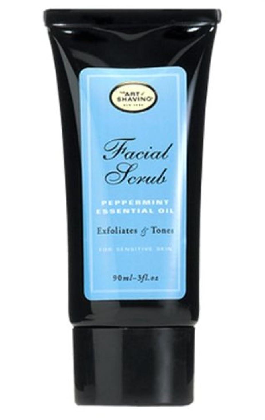 テープカトリック教徒真向こうThe Art Of Shaving Facial Scrub With Peppermint Essential Oil (並行輸入品) [並行輸入品]