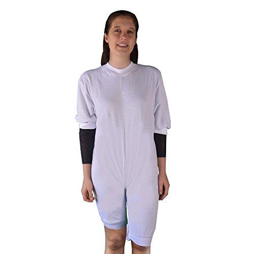 Pijama antipañal punto (invierno) corto Talla L