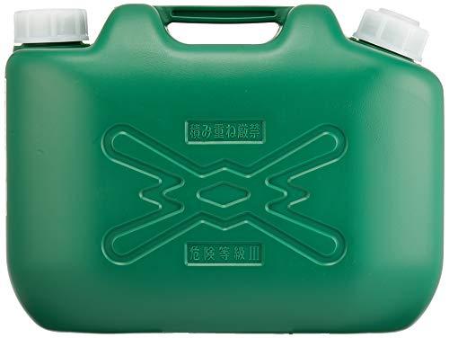 ヒシエス 軽油缶 10L(消防法適合品)ノズル付