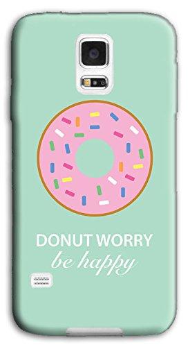 Mixroom - Cover Custodia Case In TPU Silicone Morbida Per Samsung Galaxy S5 Neo G903f Y396 Donut Happy