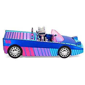 LOL Surprise Dance Machine Car with Exclusive Doll Surprise Pool and Dance Floor Multicolor and Magic Blacklight for Kids