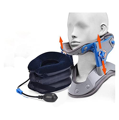 Descompresión del cuello, calefacción por infrarrojos Tracción cervical de estiramiento del cuello...