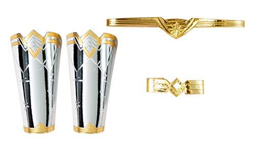 Rubie's DC Comics Wonder Woman 84 Kit de accesorios para mujer, como se muestra, talla única